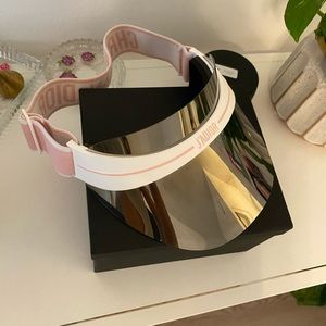 Christian Dior Visor in Pink